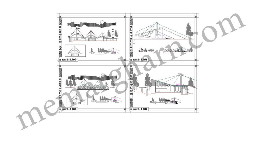 سازه کابلی
