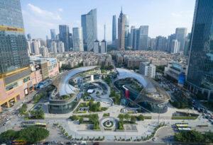 مرکز تجاری تفریحی گوانگجو چین