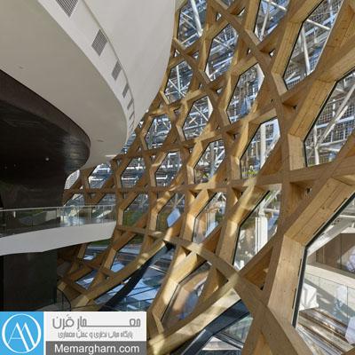 معماری داخلی تالار موسیقی لاساین فرانسه اثر شیگروبان