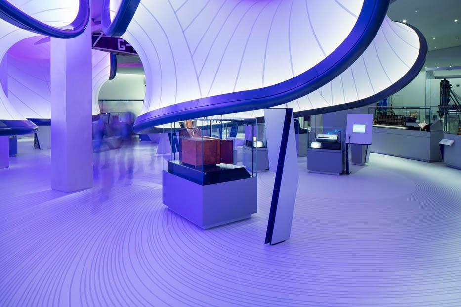 معماری داخلی گالری وینتون