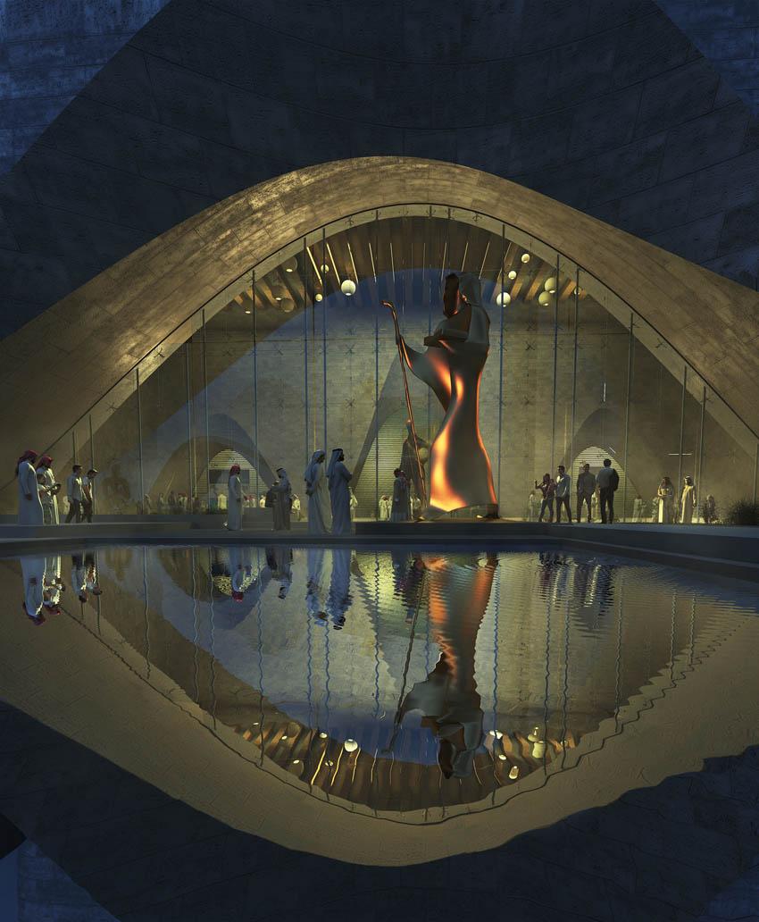 پروژه معماری موزه دفاع مقدس