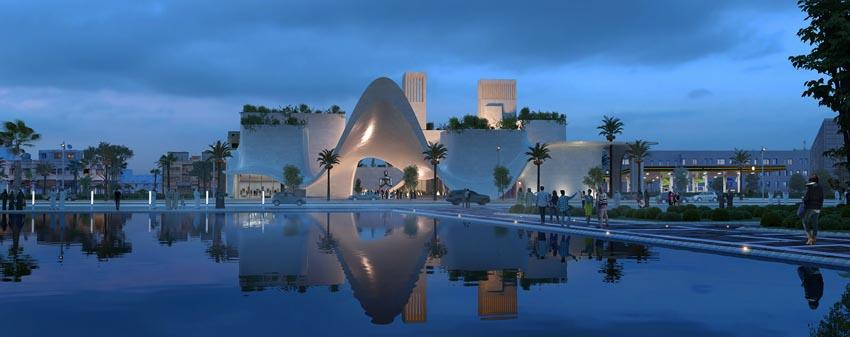 پروژه آماده معماری موزه