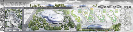 ایده طراحی دانشکده معماری