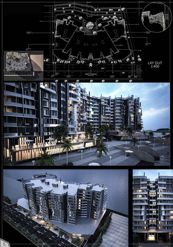 طراحی مجتمع مسکونی سازگار با محیط زیست