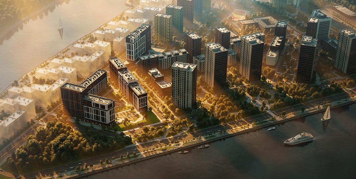 پروژه معماری برج مسکونی