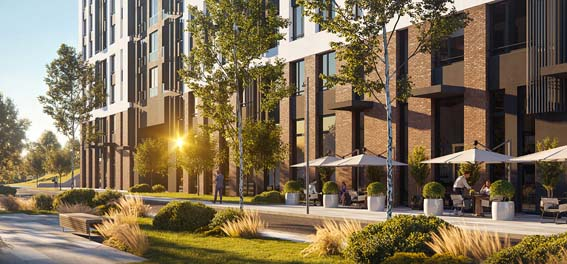 پروژه معماری مجتمع مسکونی پایان نامه