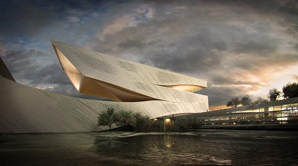 پروژه معماری مرکز علمی فرهنگی