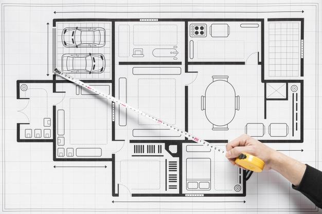 جدول برنامه ریزی فیزیکی طراحی ویلا