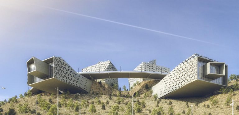 طراحی معماری 3 موزه