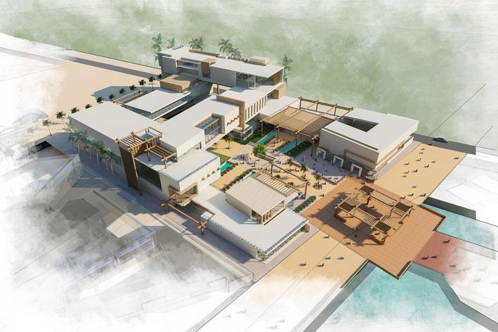طراحی معماری موزه صنایع دستی