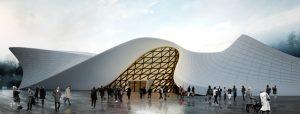 طراحی معماری موزه هوا و فضا