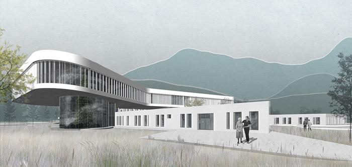 پروژه معماری بیمارستان مغز و اعصاب