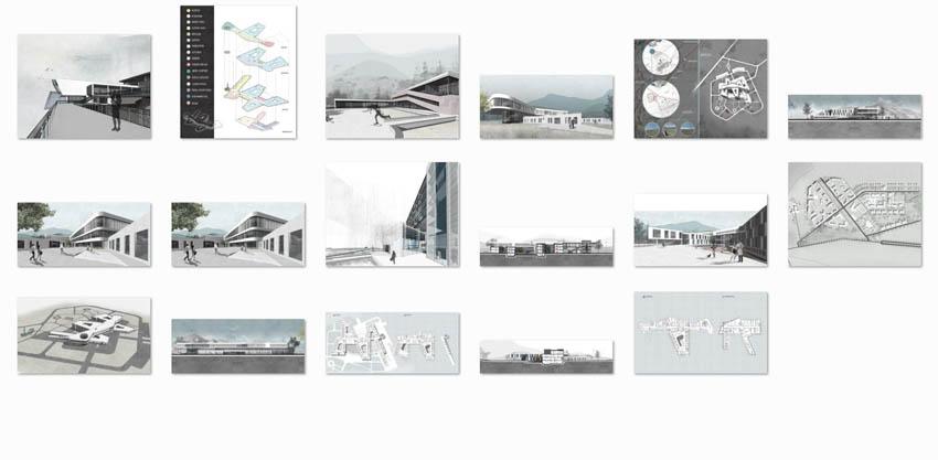 طراحی معماری بیمارستان مغز و اعصاب