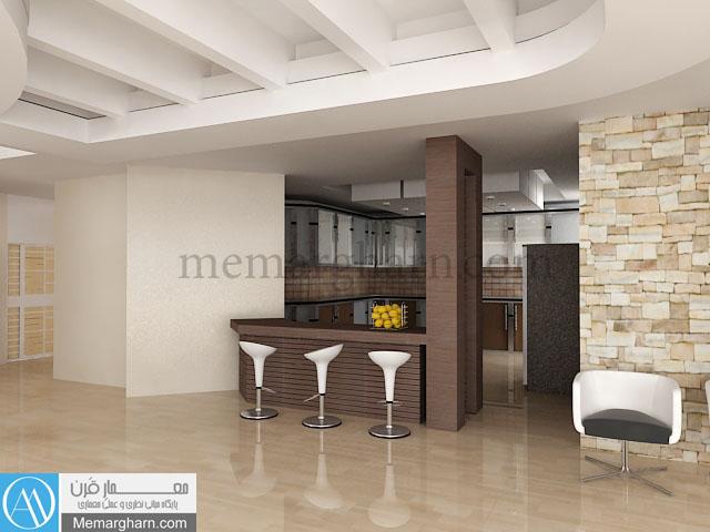 طراحی فاز دو آشپزخانه