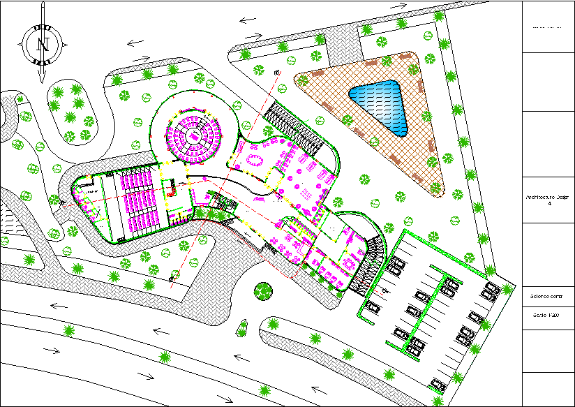 سایت پلان پارک علم و فن آوری