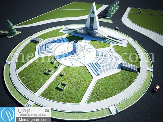 طراحی معماری نمایشگاه