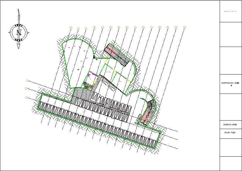 پلان زیر زمین پارک علم و فن آوری