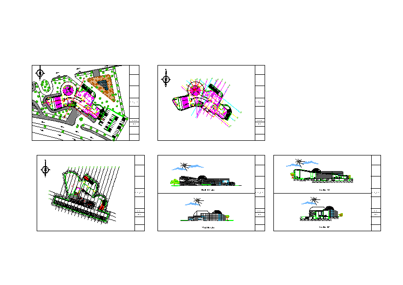 کل نقشه های اتوکد پارک علم و فن آوری