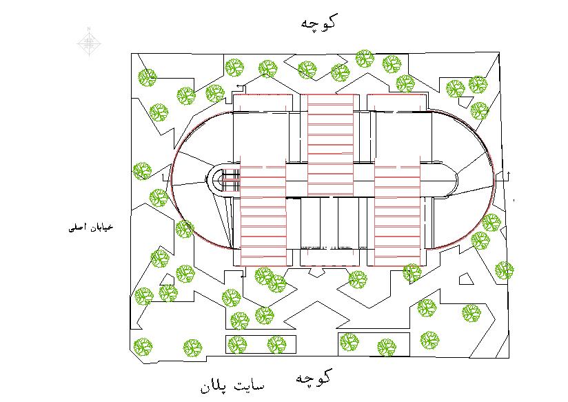 سایت پلان موزه مد و لباس