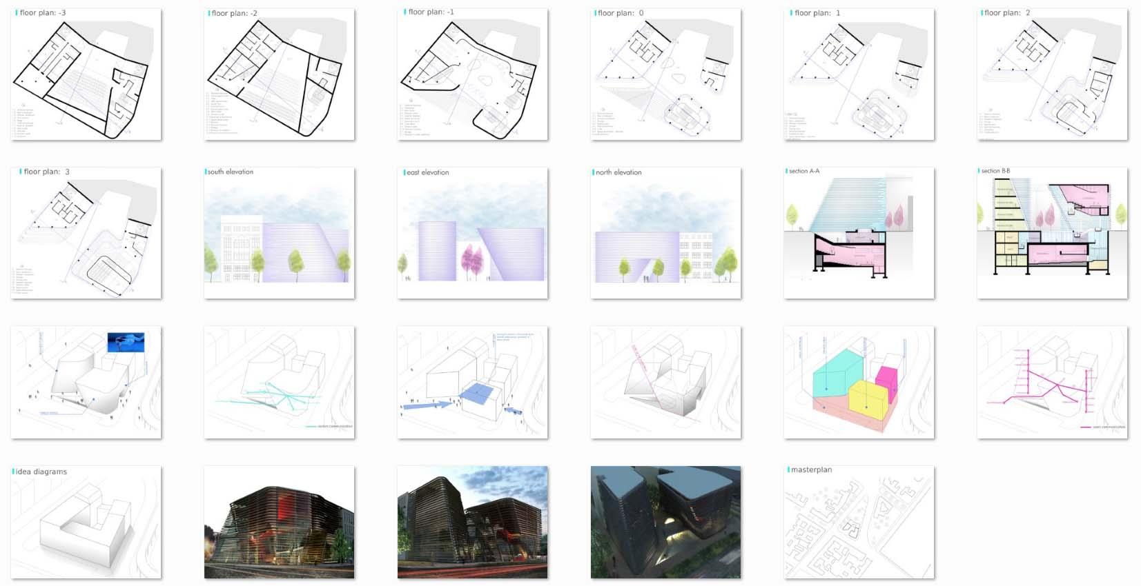 طرح معماری آکادمی آموزش هنرهای موزون