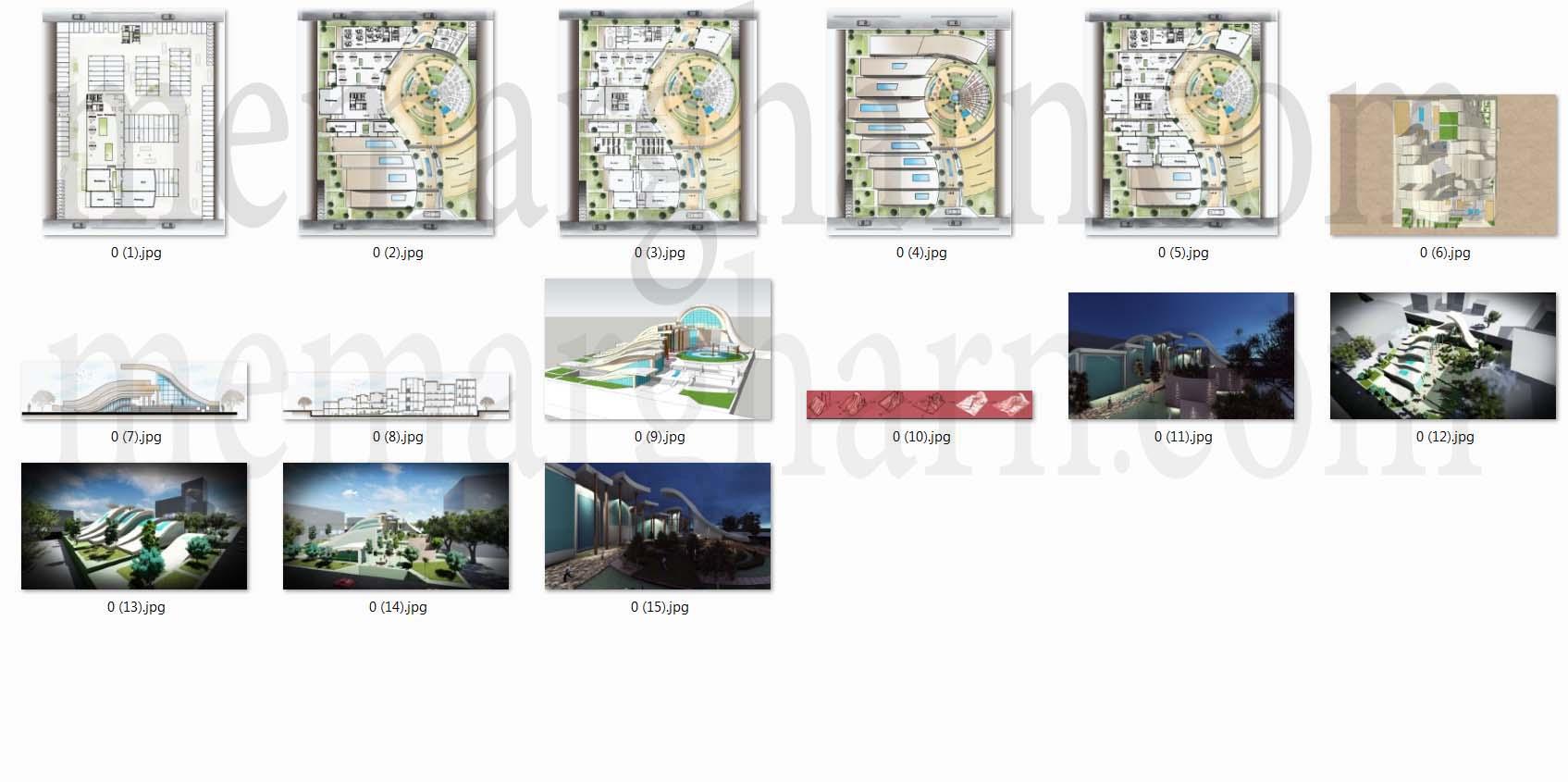 مدارک پروژه مرکز تحقیقات و تکنولوژی
