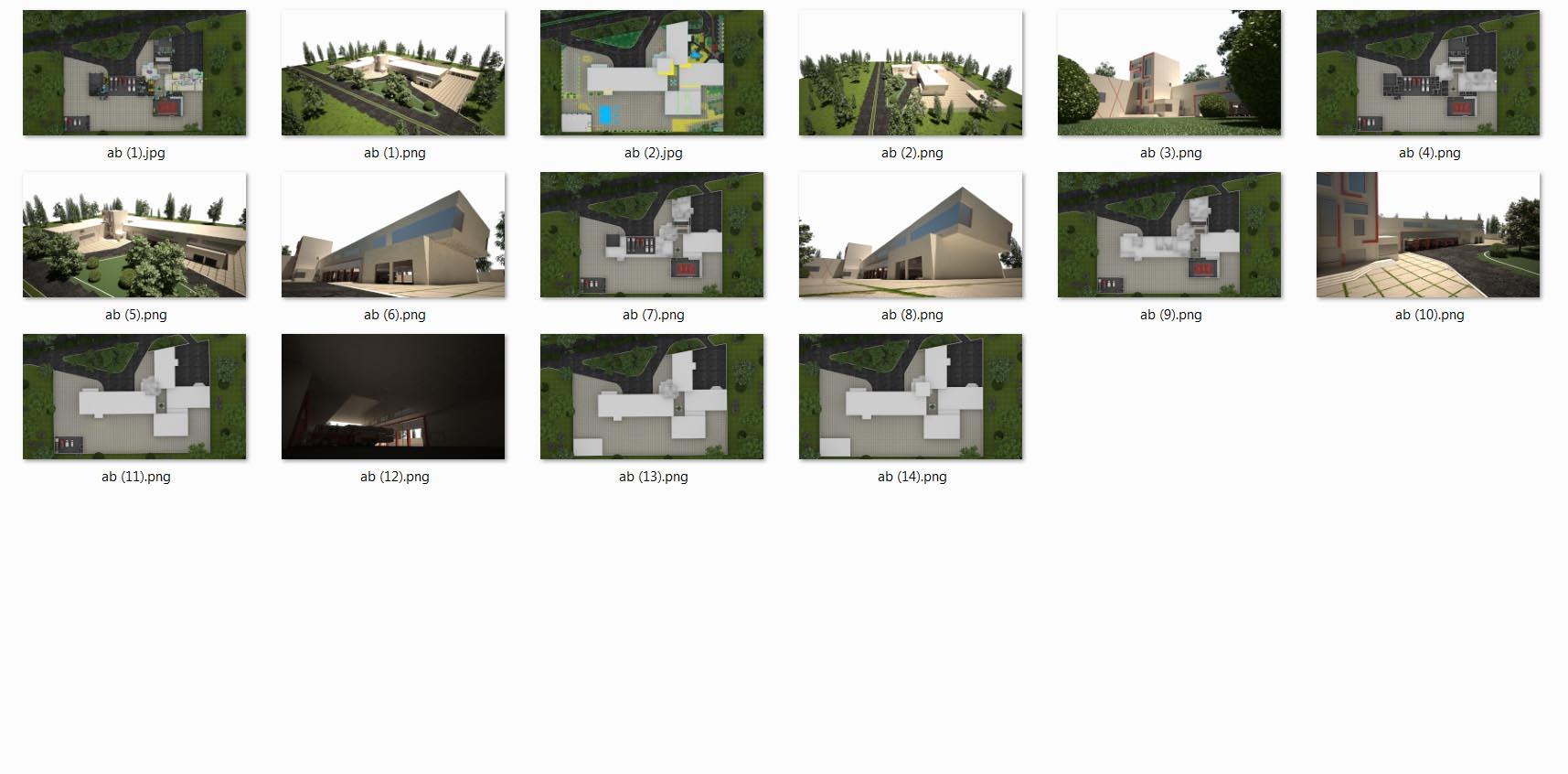 کل تصاویر سه بعدی پروژه آتش نشانی