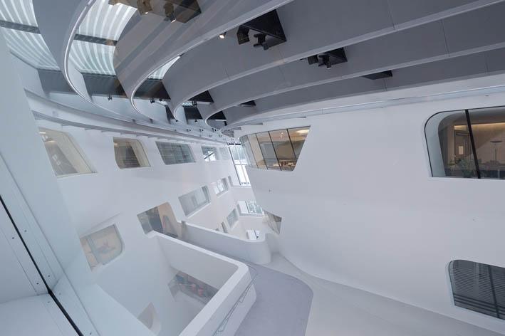 معماری داخلی کتابخانه