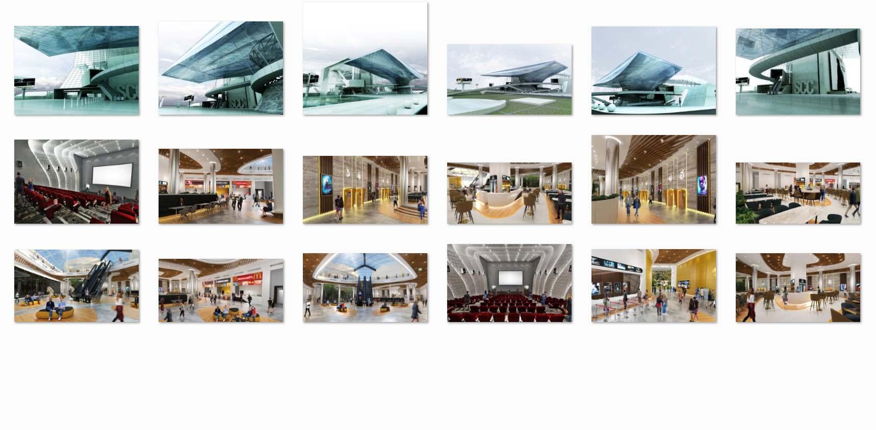 دانلود پروژه معماری سینما