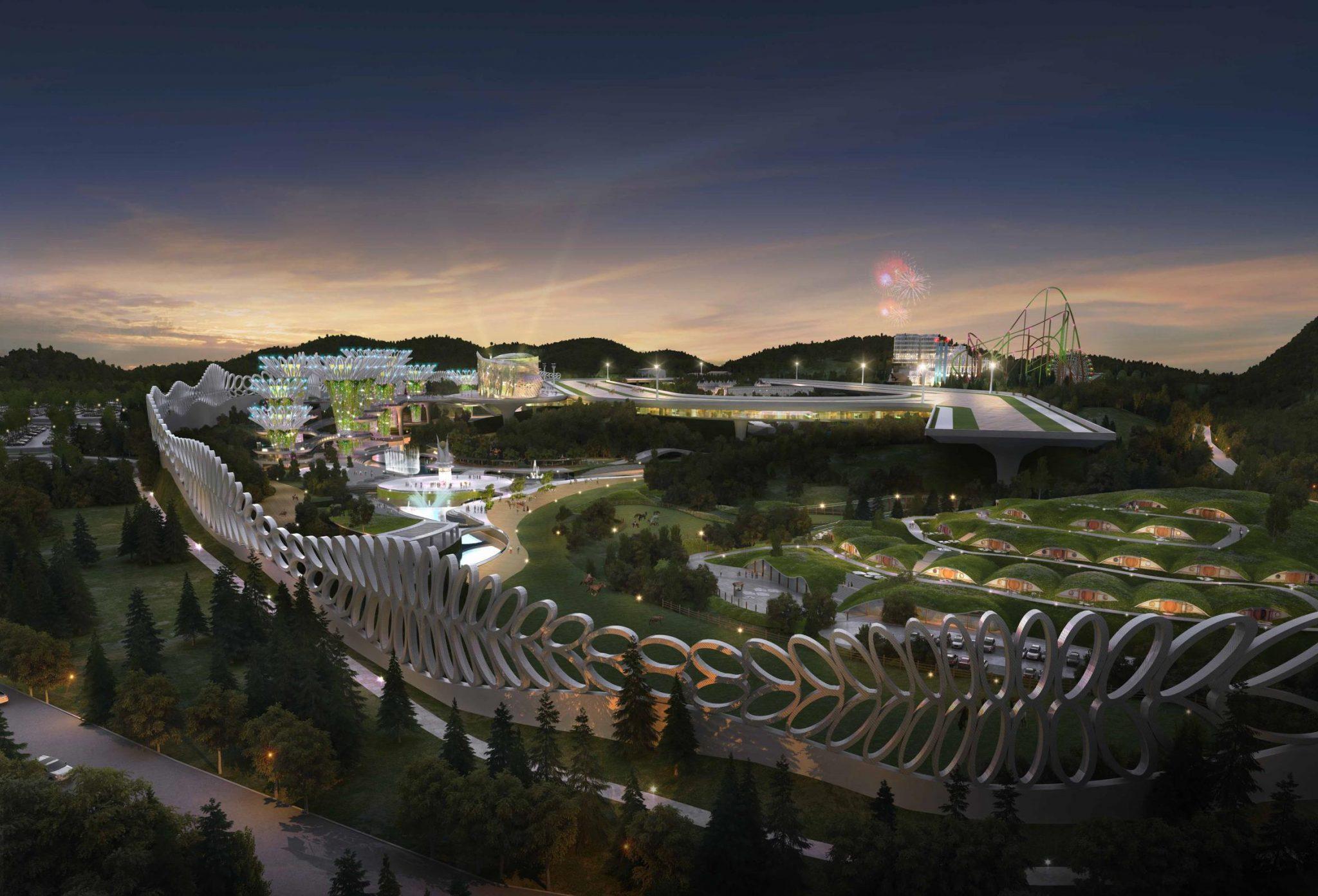پایان نامه معماری مجموعه ورزشی