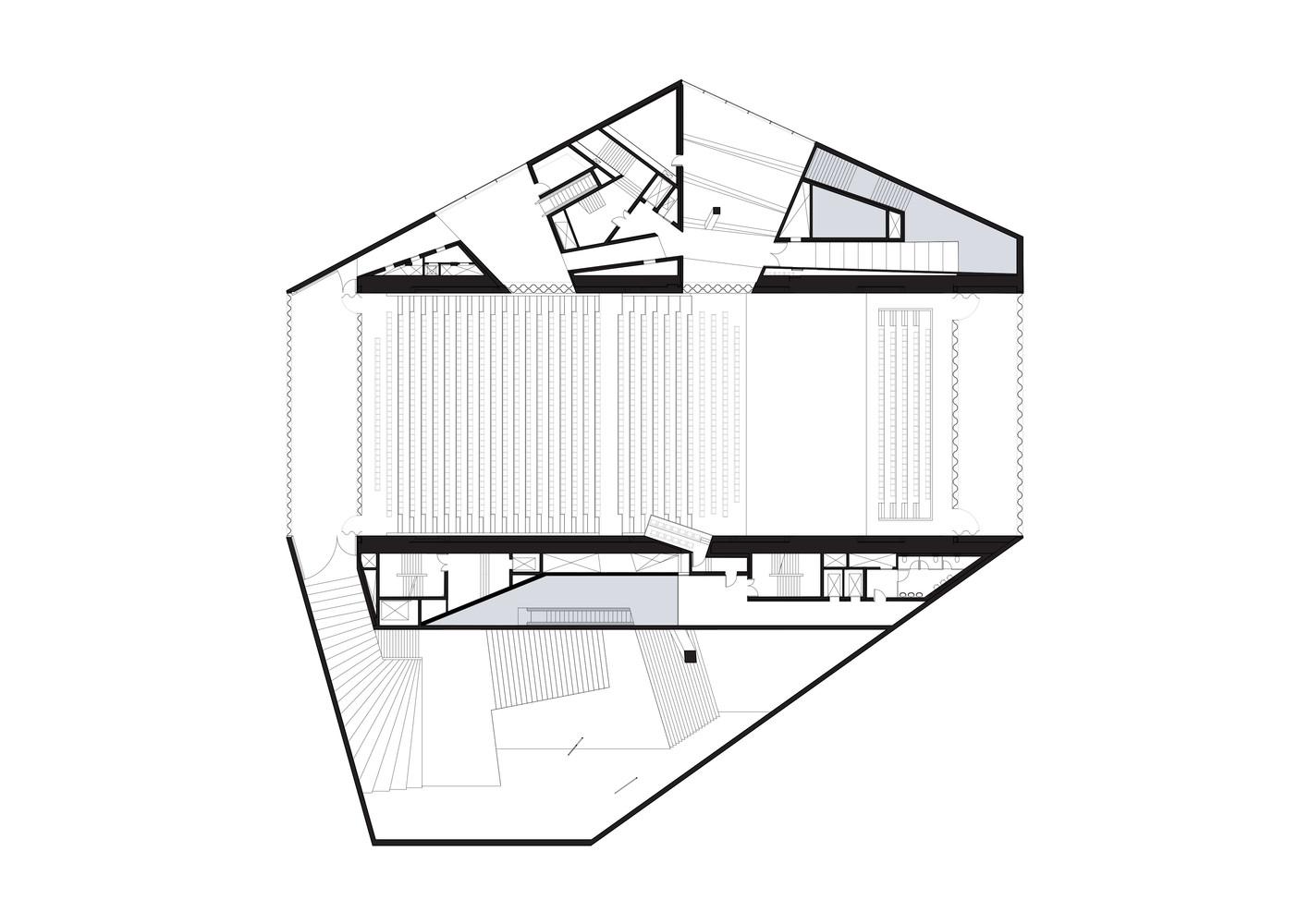 نقشه معماری آثار کولهاس