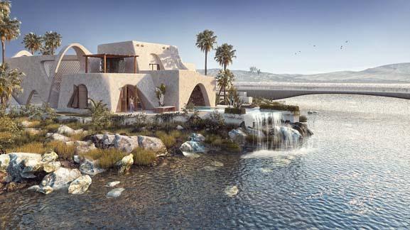 طراحی معماری اقامتگاه بوم گردی