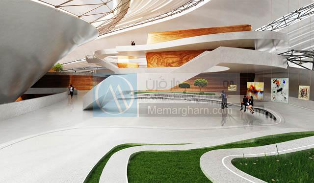 معماری مجتمع های فرهنگی