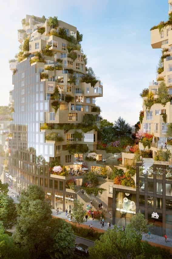 دانلود پایان نامه کارشناسی معماری مجتمع مسکونی