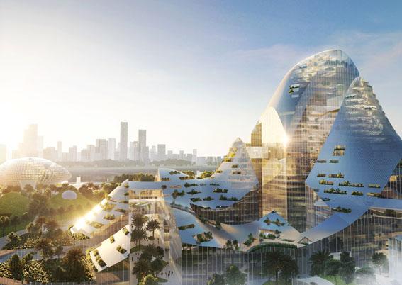 پلان طراحی مرکز محله