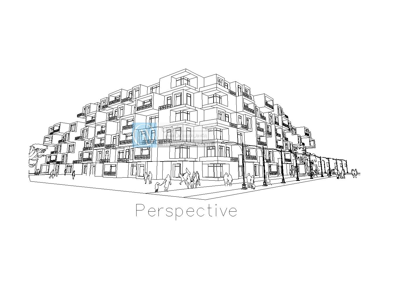 دانلود رایگان پروژه معماری مجتمع مسکونی