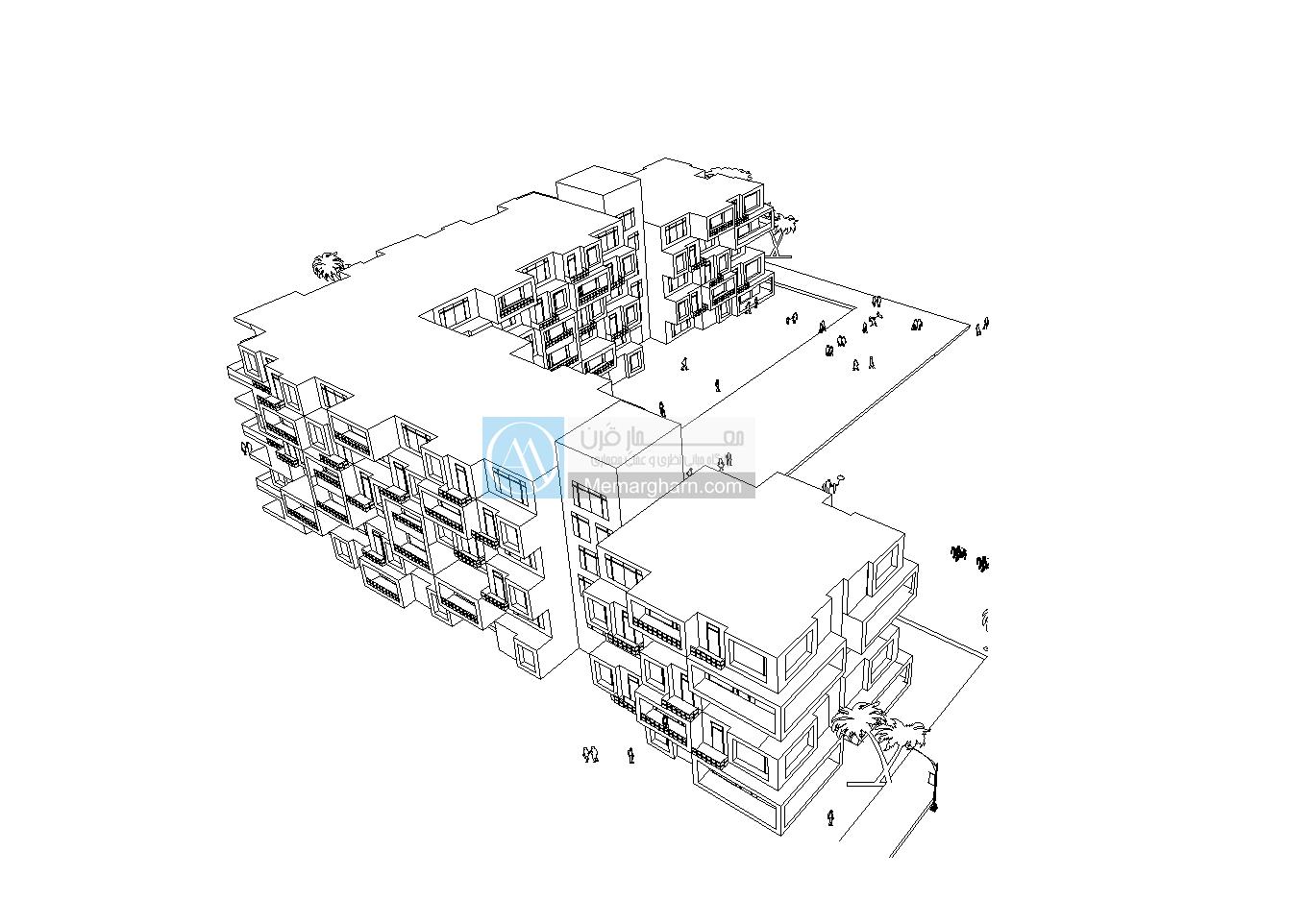 طرح 5 مجتمع مسکونی