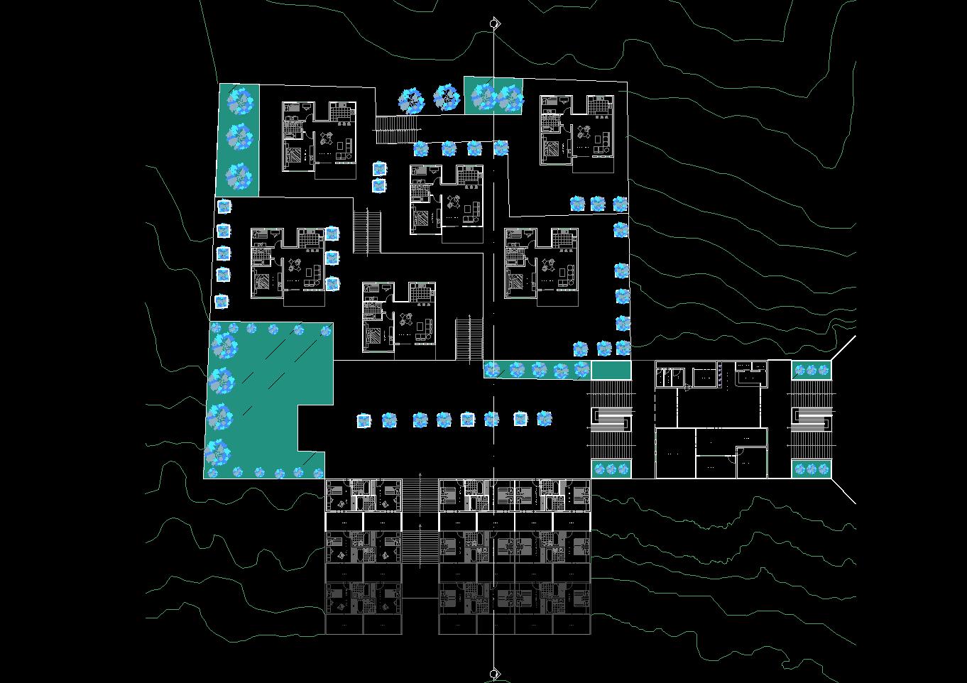 نقشه های معماری اقامتگاه بوم گردی