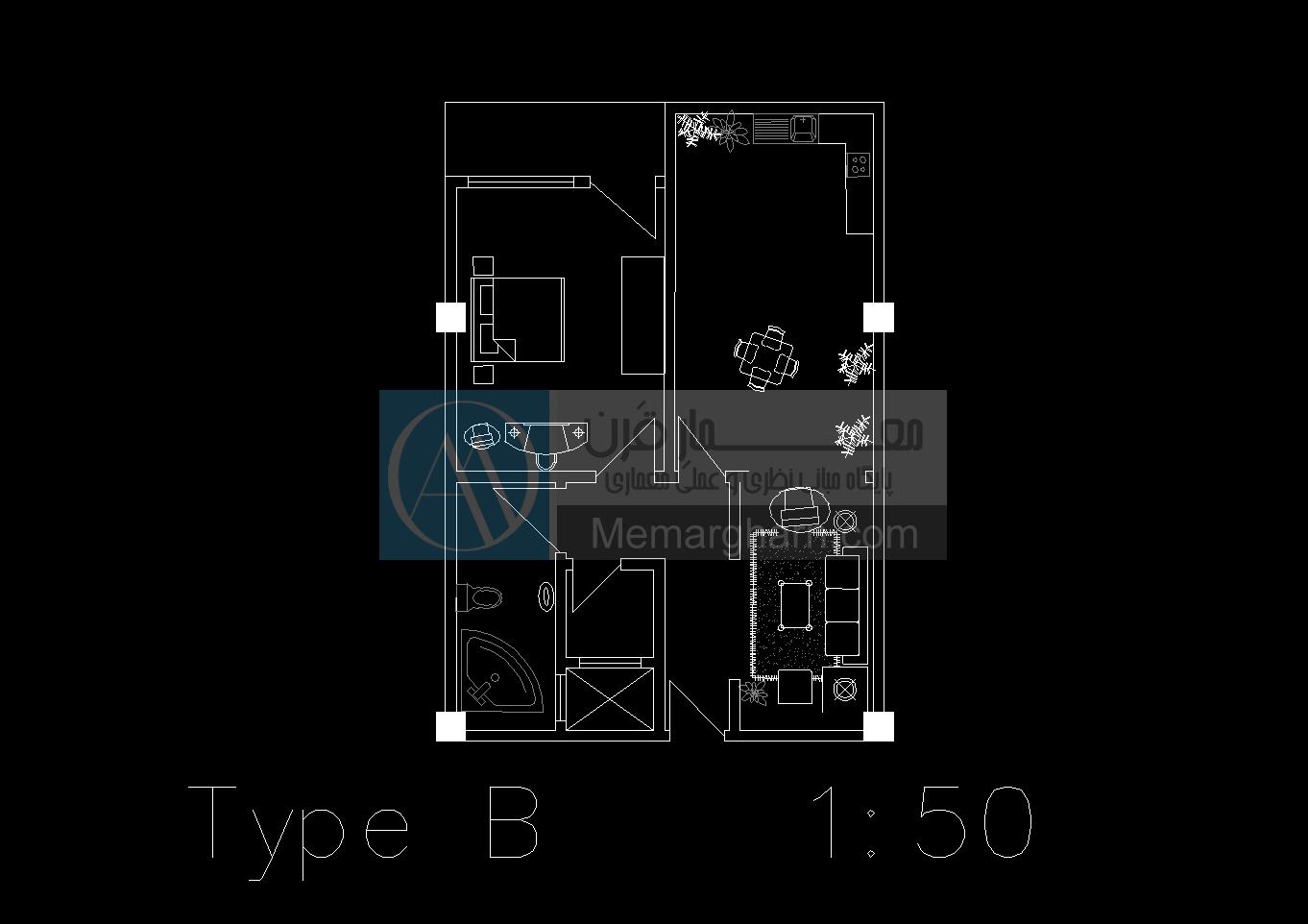 پروژه طرح ۵ معماری مجتمع مسکونی