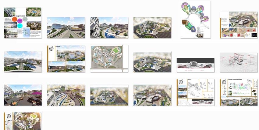 طراحی پارک علم و تکنولوژی