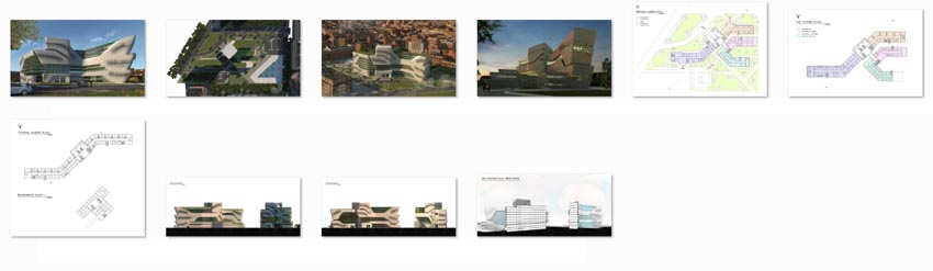 طراحی بیمارستان طب سنتی و گیاهی