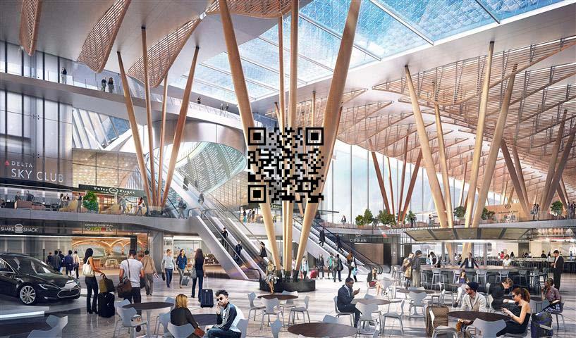 طرح معماری فرودگاه