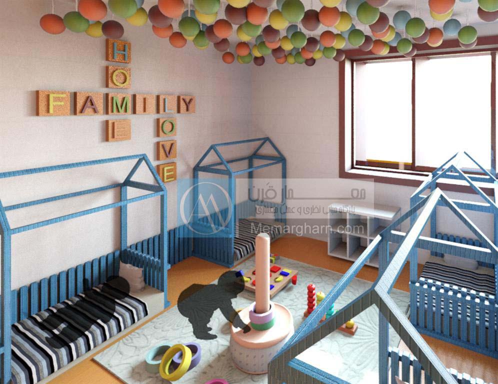 طراحی داخلی پرورشگاه