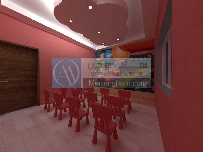 پروژه کامل معماری پرورشگاه