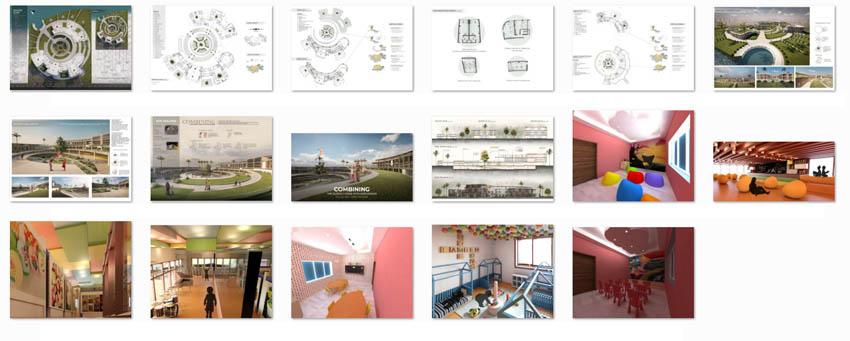 طراحی پرورشگاه کودکان