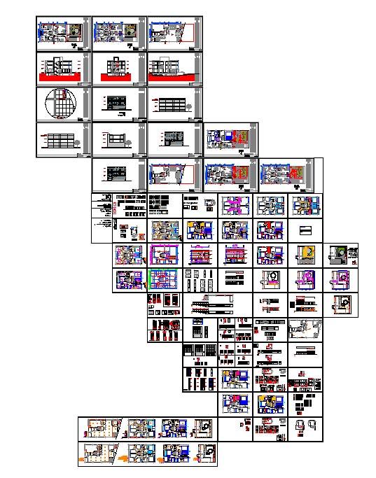 دانلود نقشه فاز دو مسکونی