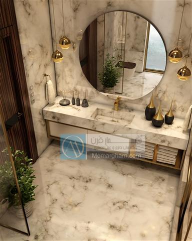 طراحی سرویس بهداشتی مسکونی